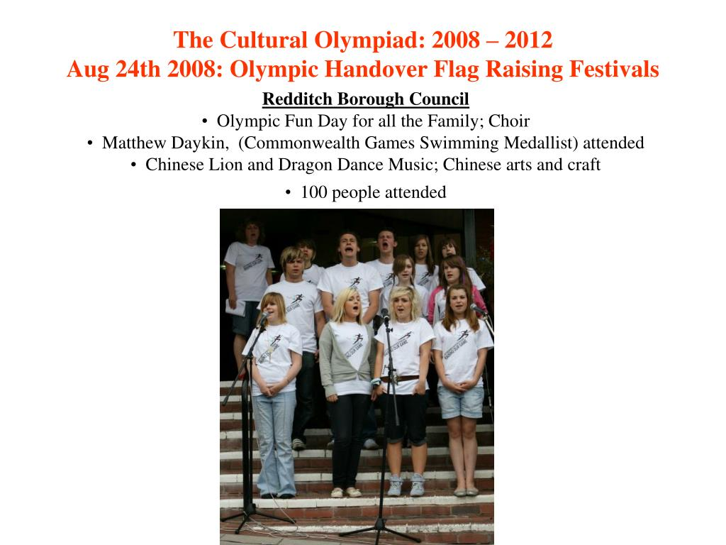 The Cultural Olympiad: 2008 – 2012