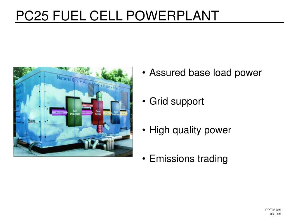 PC25 FUEL CELL POWERPLANT