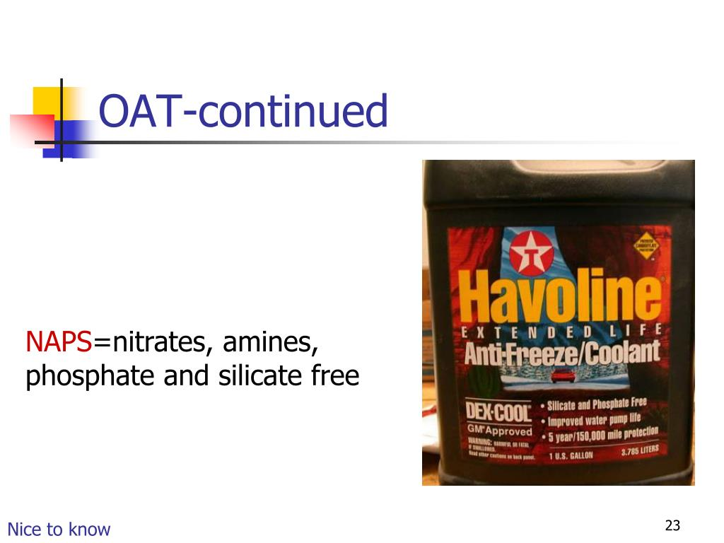 OAT-continued