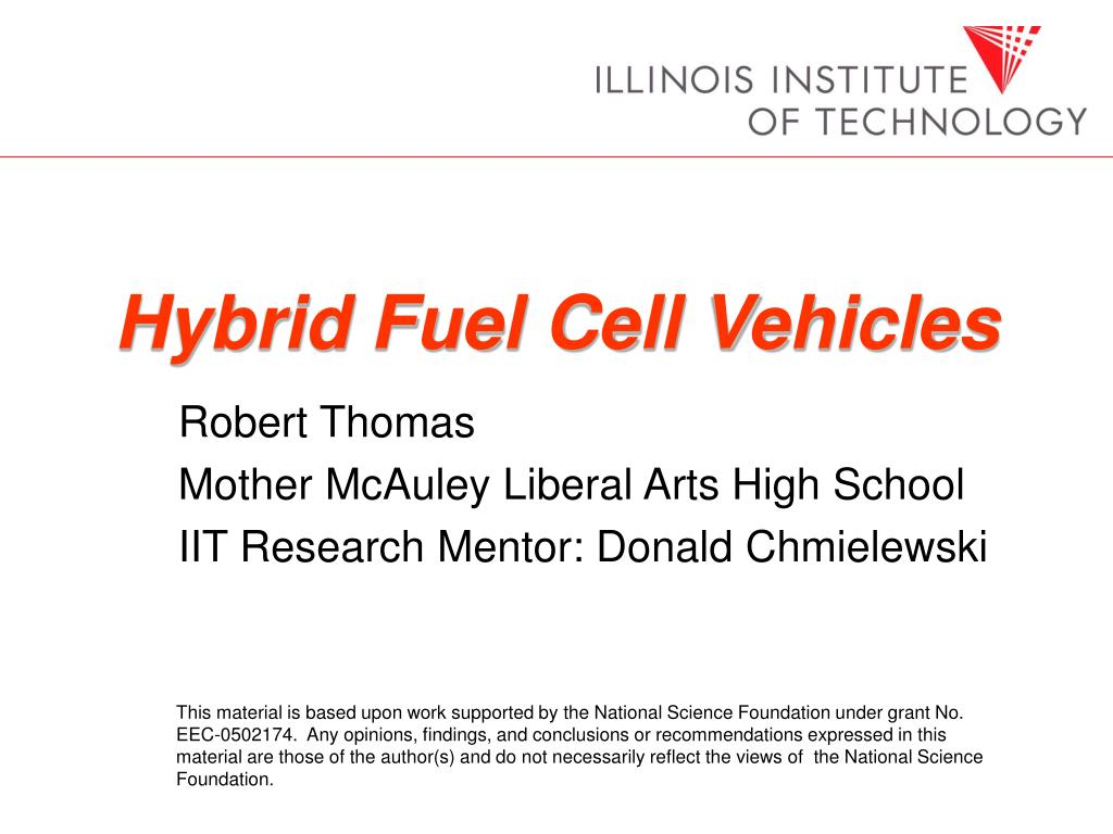 Hybrid Fuel Cell Vehicles