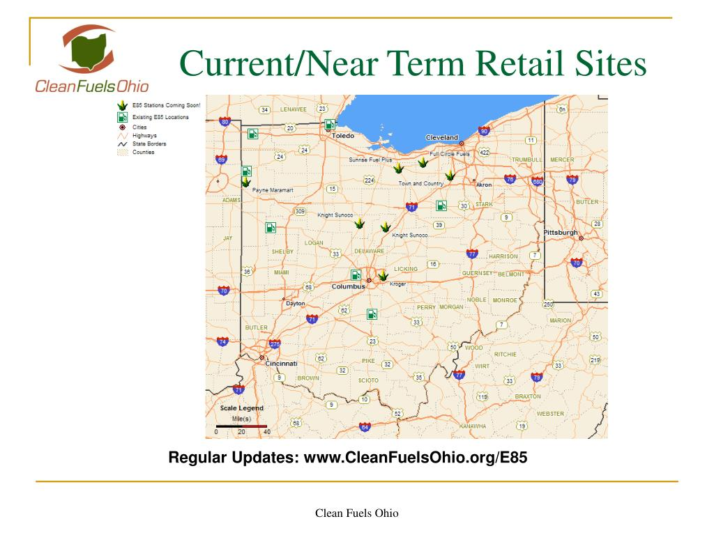 Current/Near Term Retail Sites