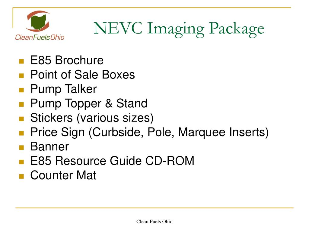 NEVC Imaging Package