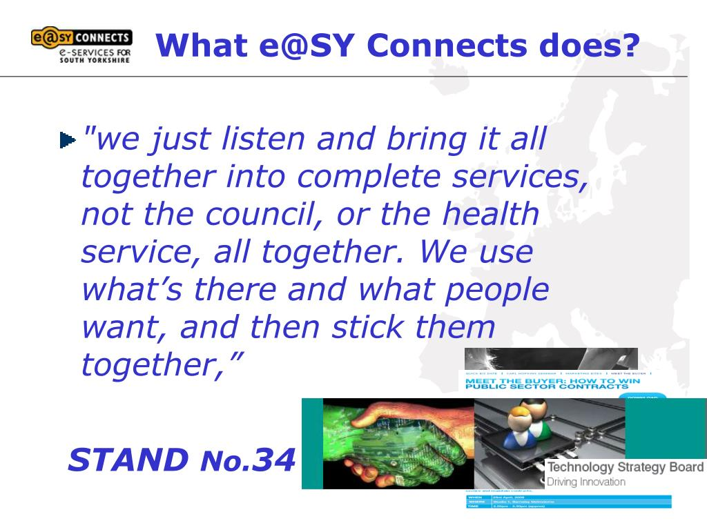 What e@SY Connects does?