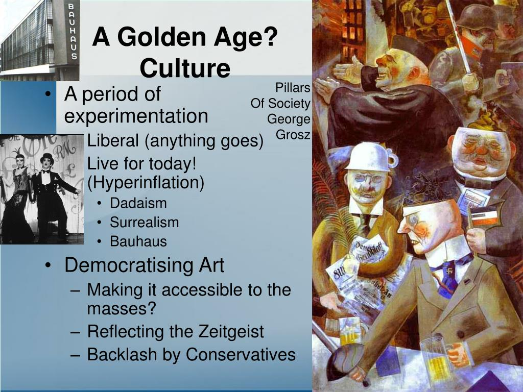 A Golden Age? Culture