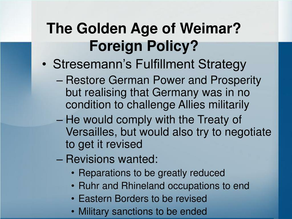 why did the weimar republic survive How did the weimar republic survived the apparantly insurmountable problems that it faced 1918-23 essay, research paper how did the weimar republic survive the apparently.