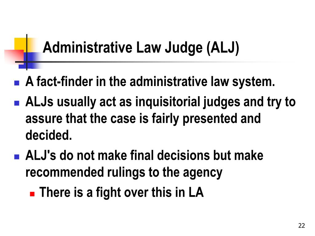 an introduction to the analysis of administrative law Opinion analysis: justices invalidate civil-service appointments of administrative law judges posted thu, june 21st, 2018 1:54 pm by ronald mann it may be years before the implications of the supreme court's opinion this morning in lucia v.