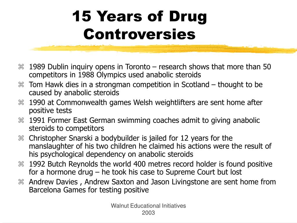 15 Years of Drug Controversies