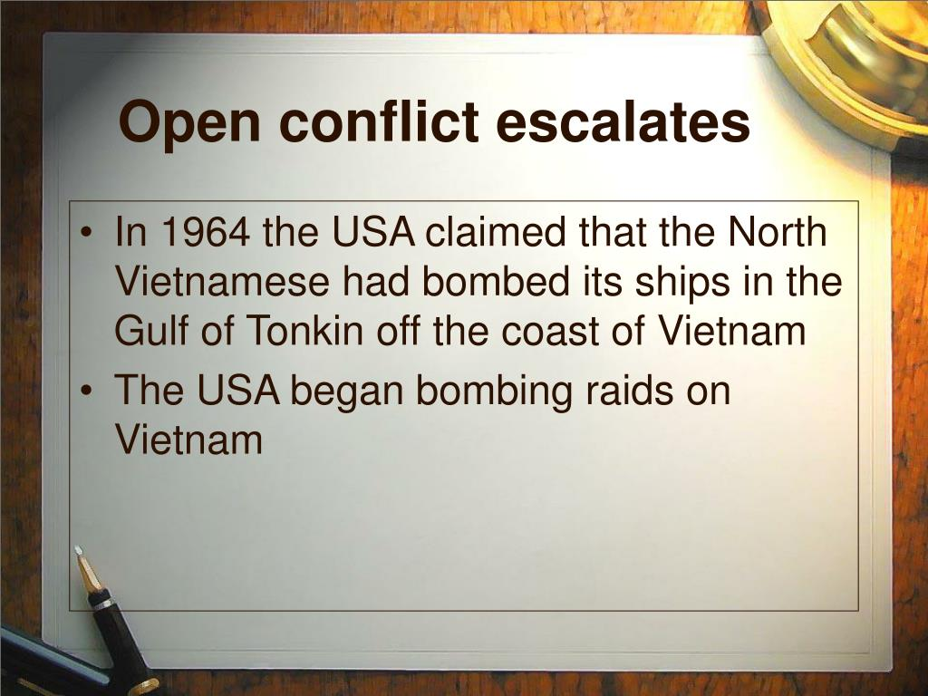 Open conflict escalates