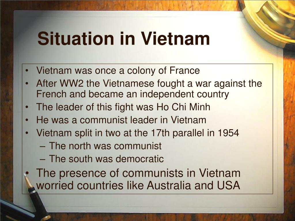 Situation in Vietnam