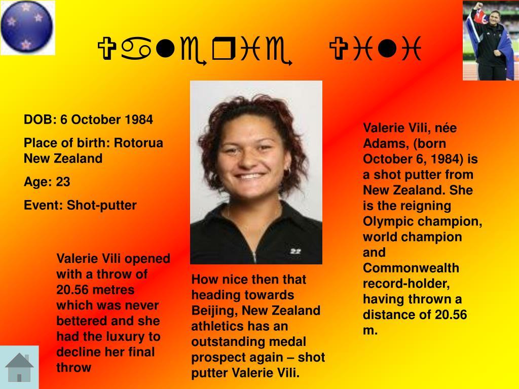 Valerie Vili