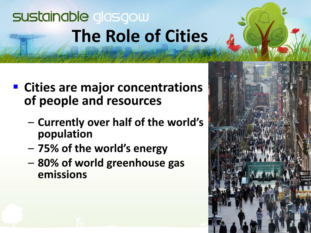 The Role of Cities