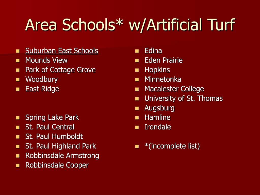 Suburban East Schools