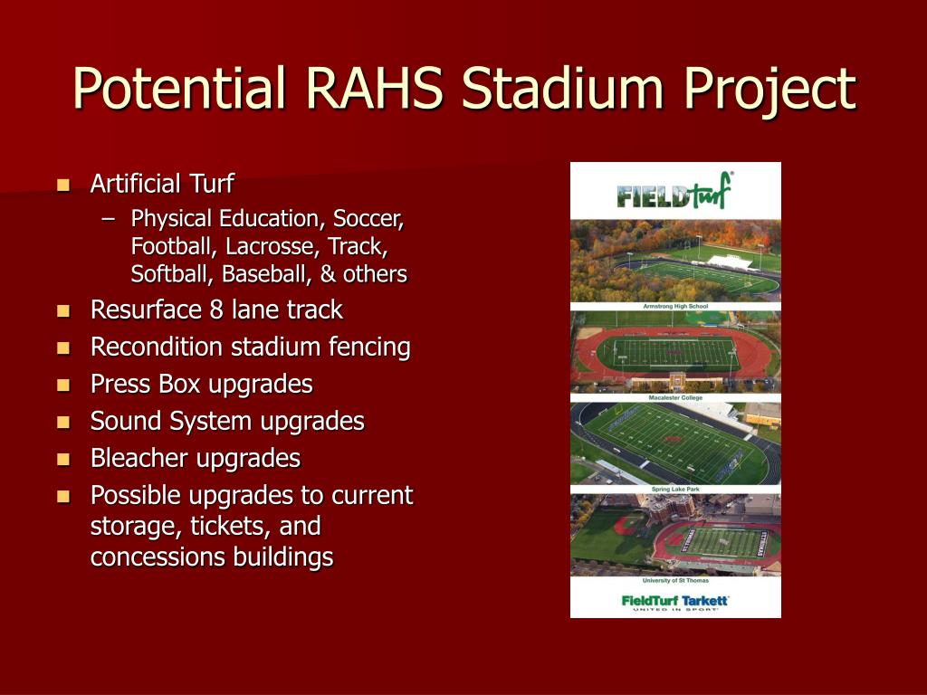 Potential RAHS Stadium Project
