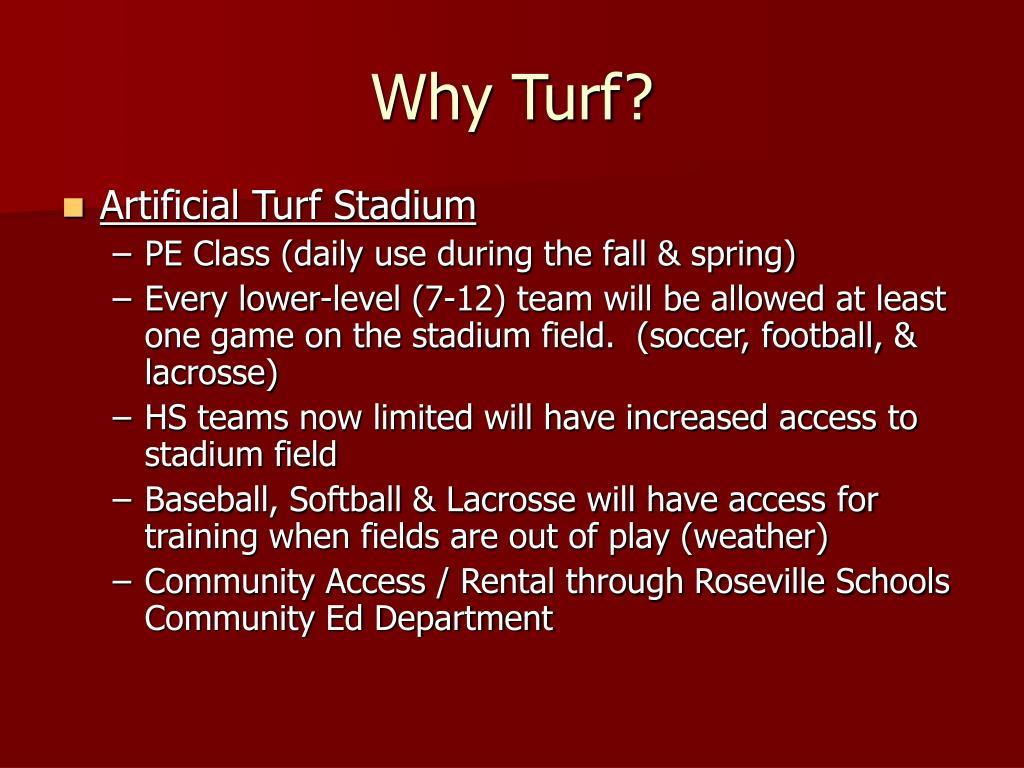 Why Turf?