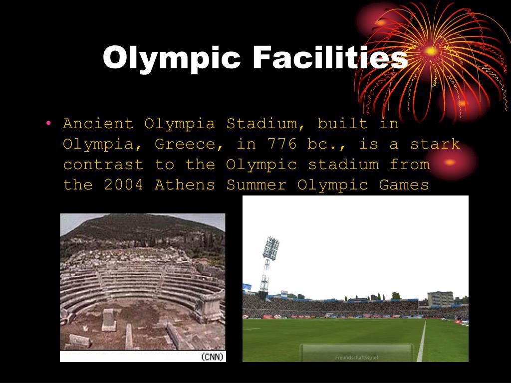 Olympic Facilities