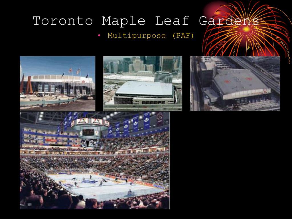 Toronto Maple Leaf Gardens