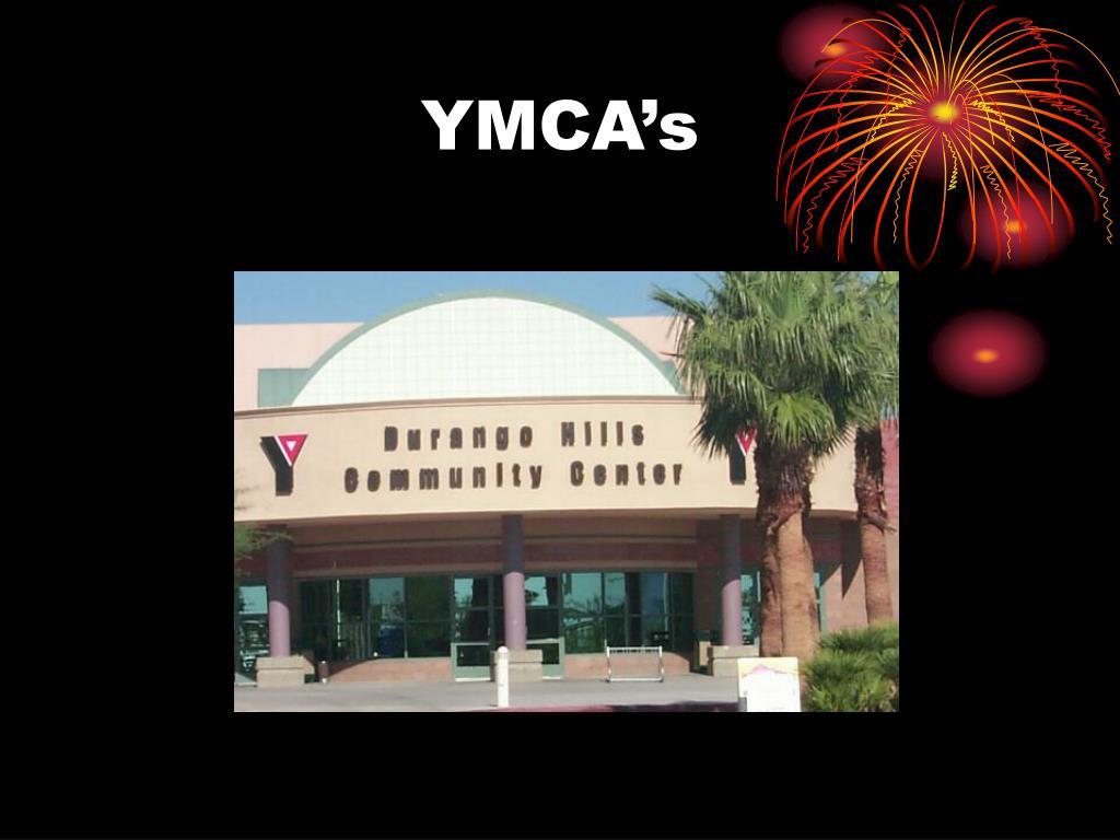 YMCA's