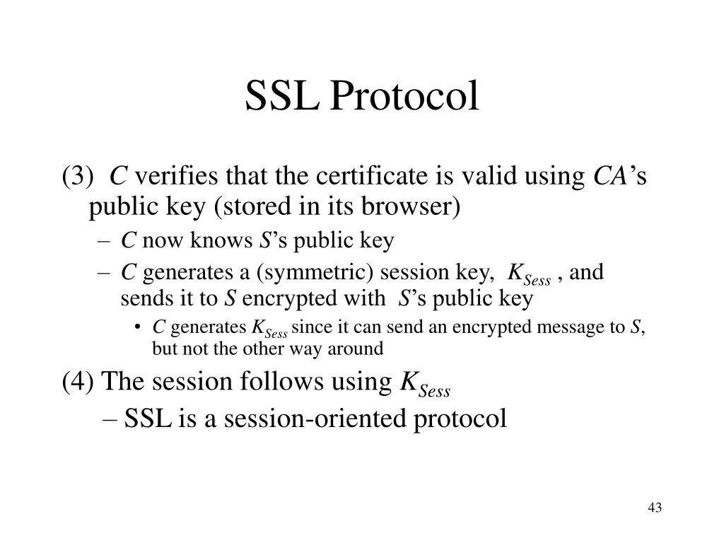 SSL Protocol