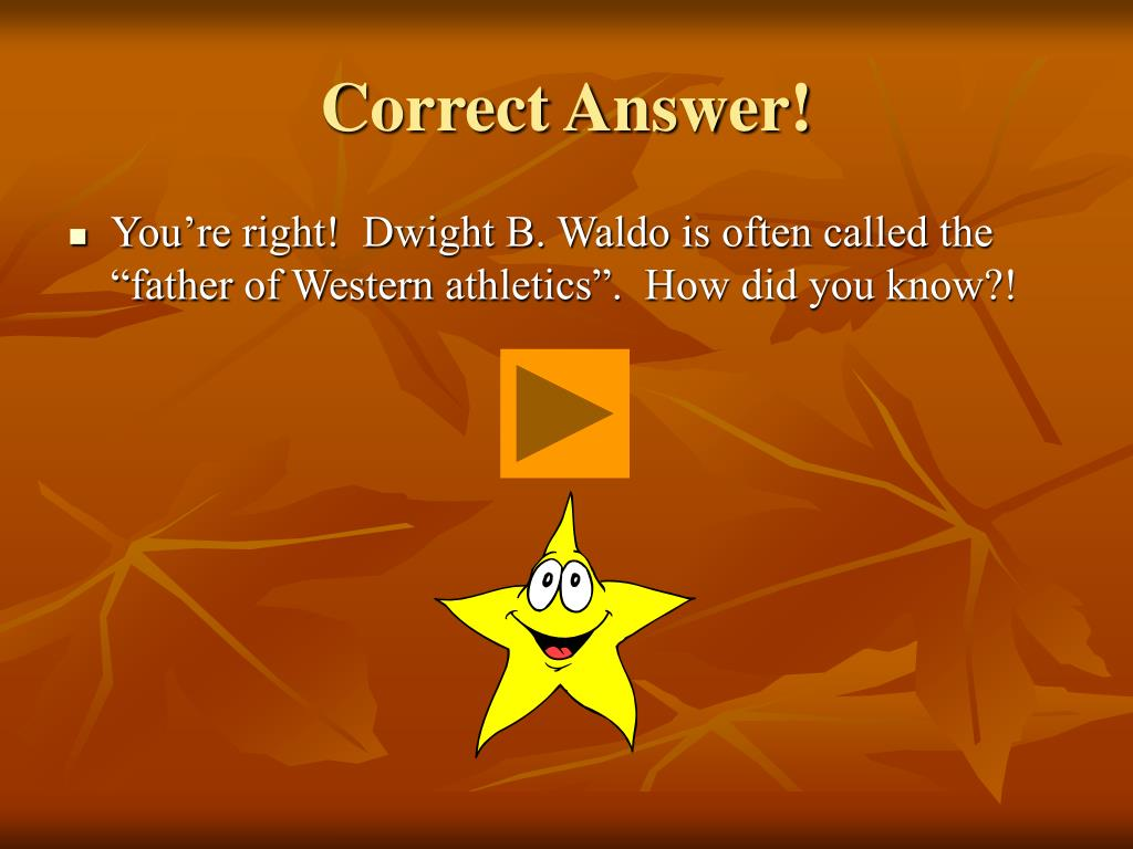 Correct Answer!