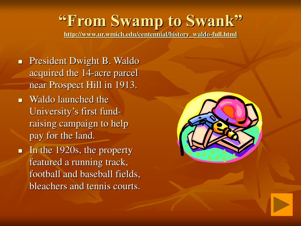 """""""From Swamp to Swank"""""""