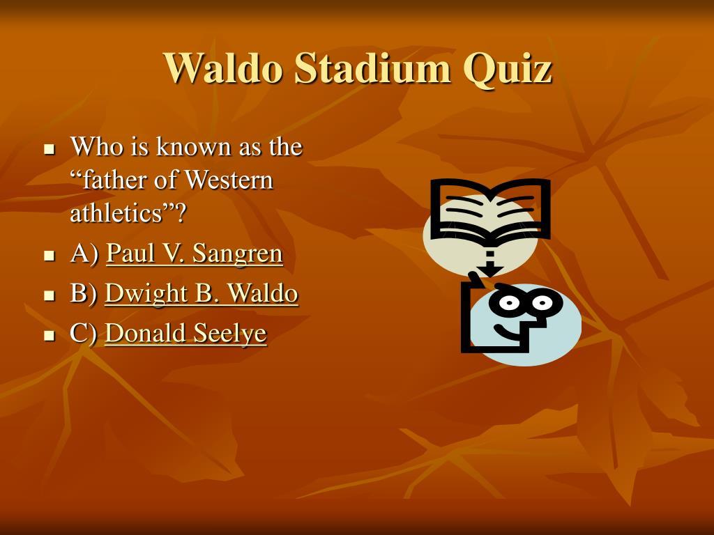 Waldo Stadium Quiz