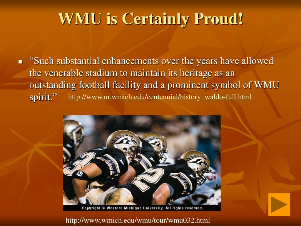WMU is Certainly Proud!