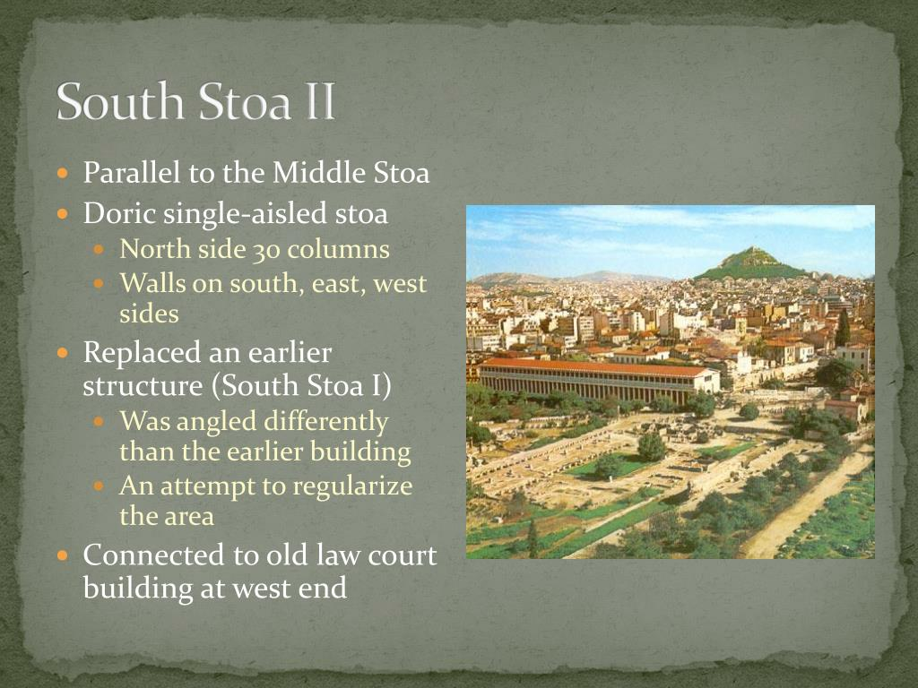 South Stoa II