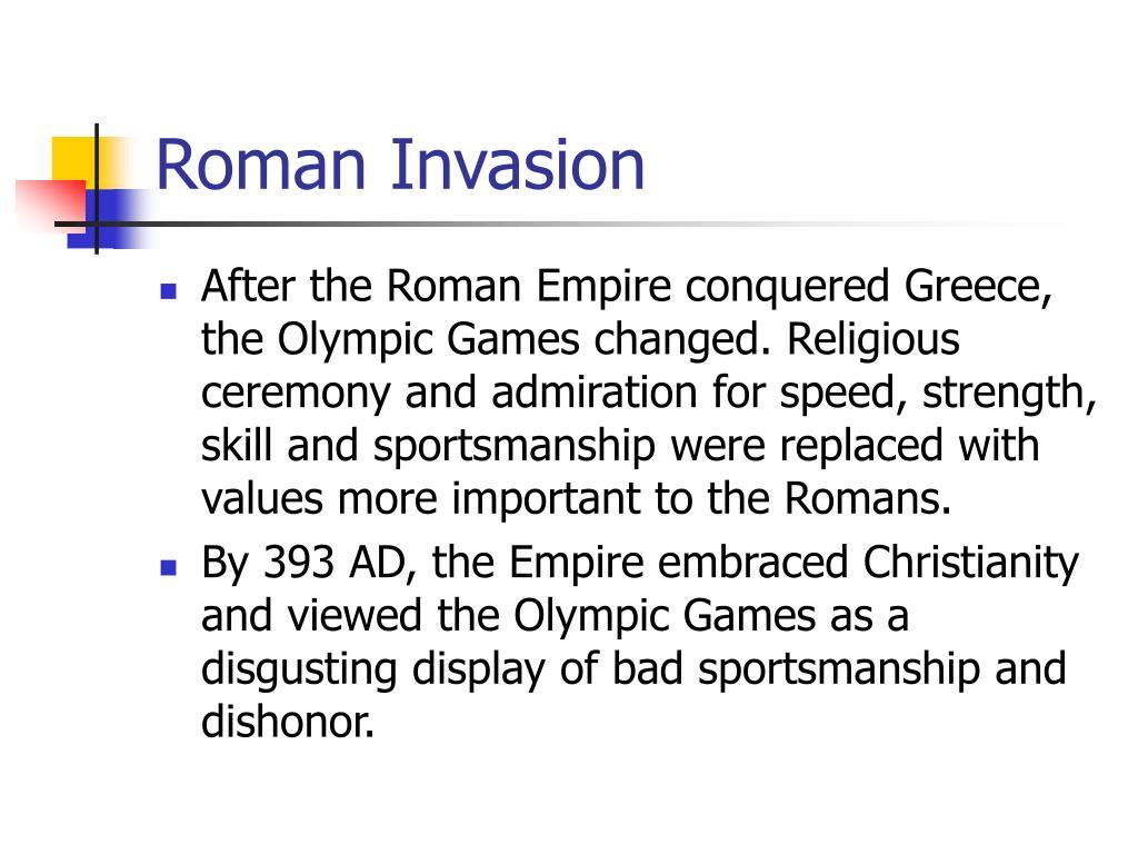 Roman Invasion