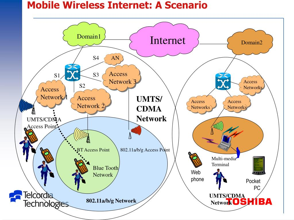 Mobile Wireless Internet: A Scenario