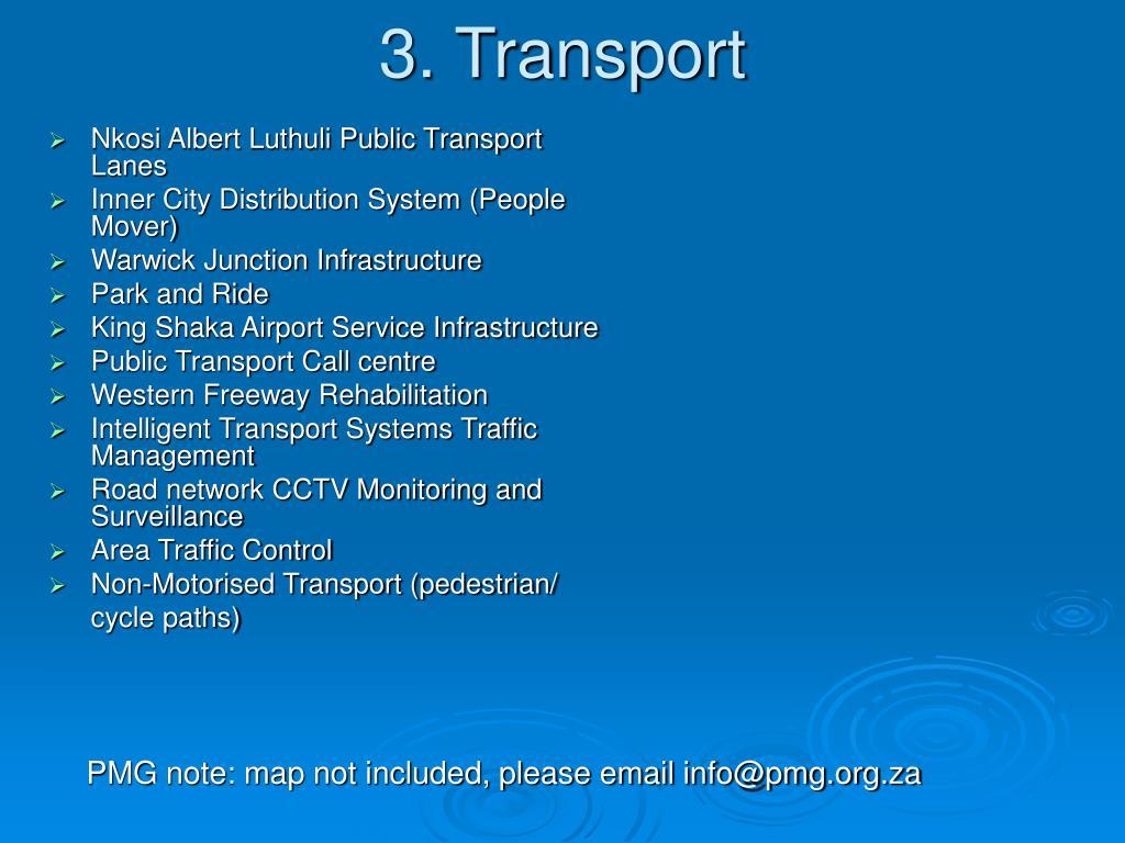 Nkosi Albert Luthuli Public Transport Lanes
