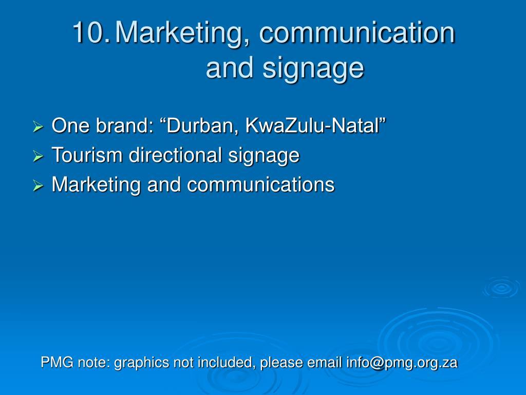 "One brand: ""Durban, KwaZulu-Natal"""