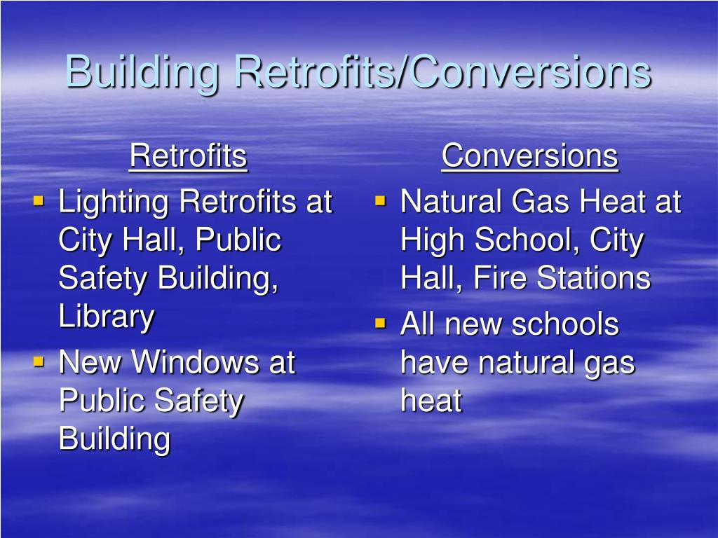 Retrofits