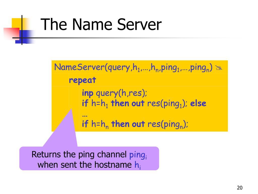 The Name Server