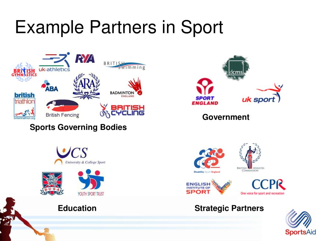 Example Partners in Sport