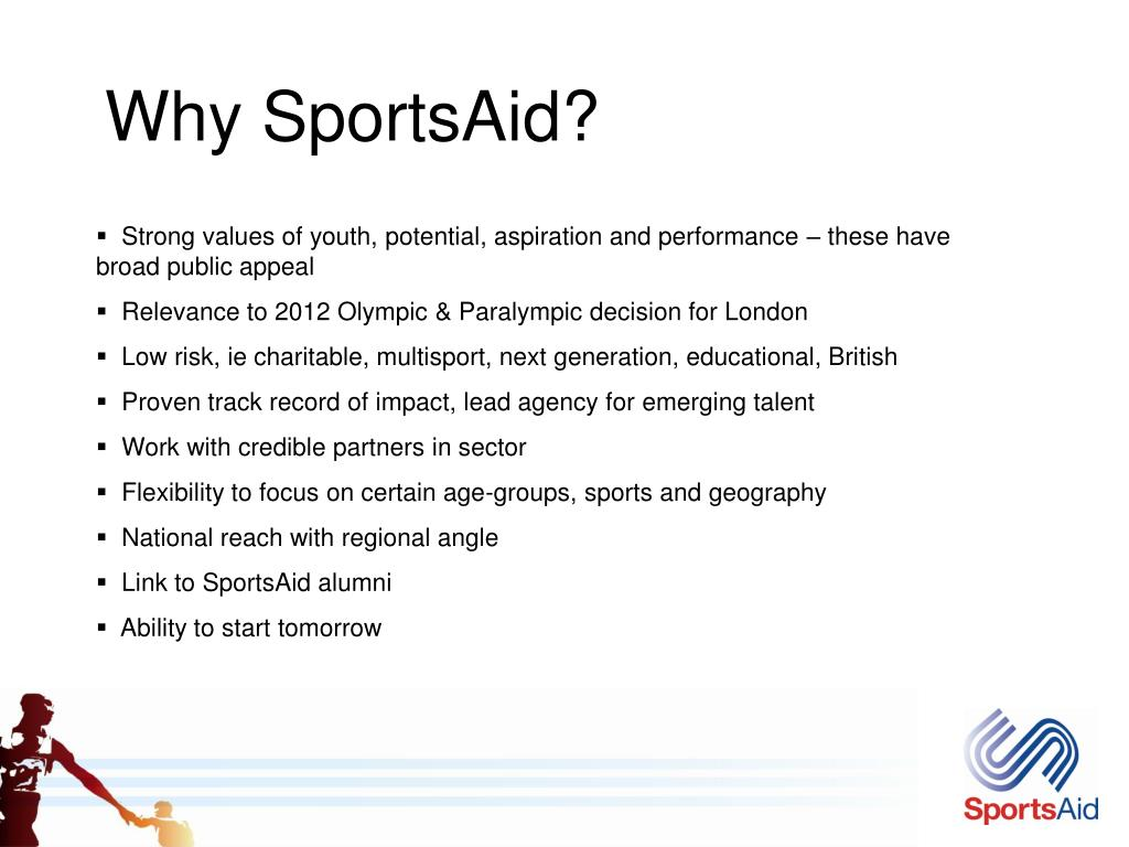 Why SportsAid?