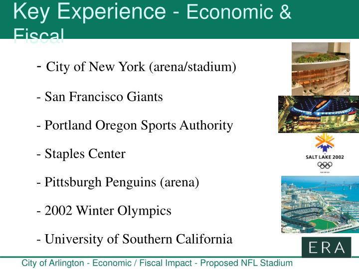Key Experience -