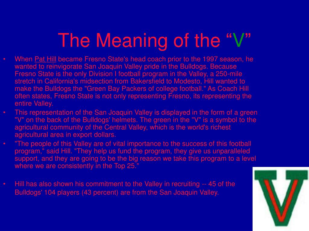 The Meaning of the