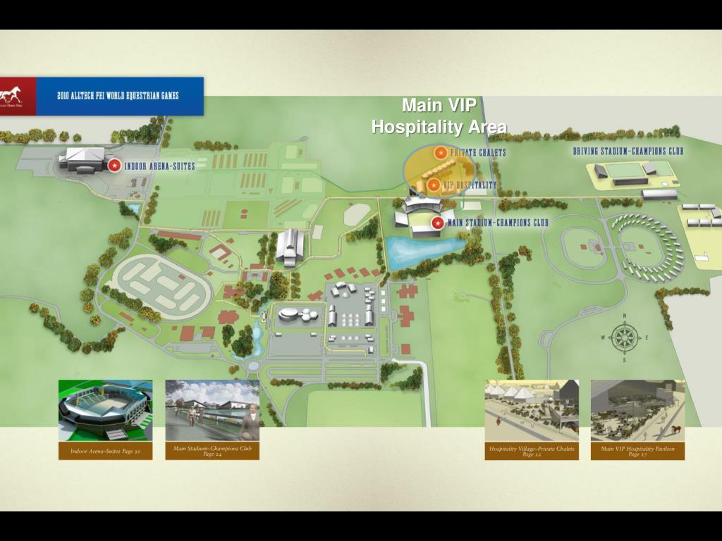 Main VIP Hospitality Area