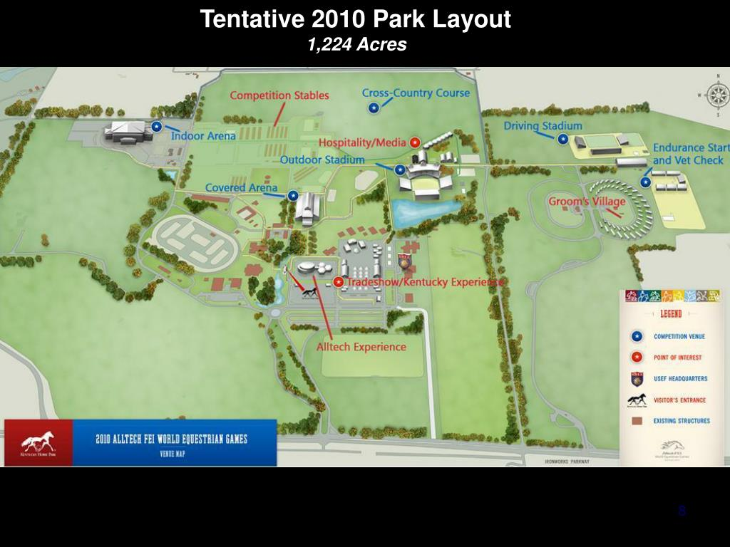 Tentative 2010 Park Layout