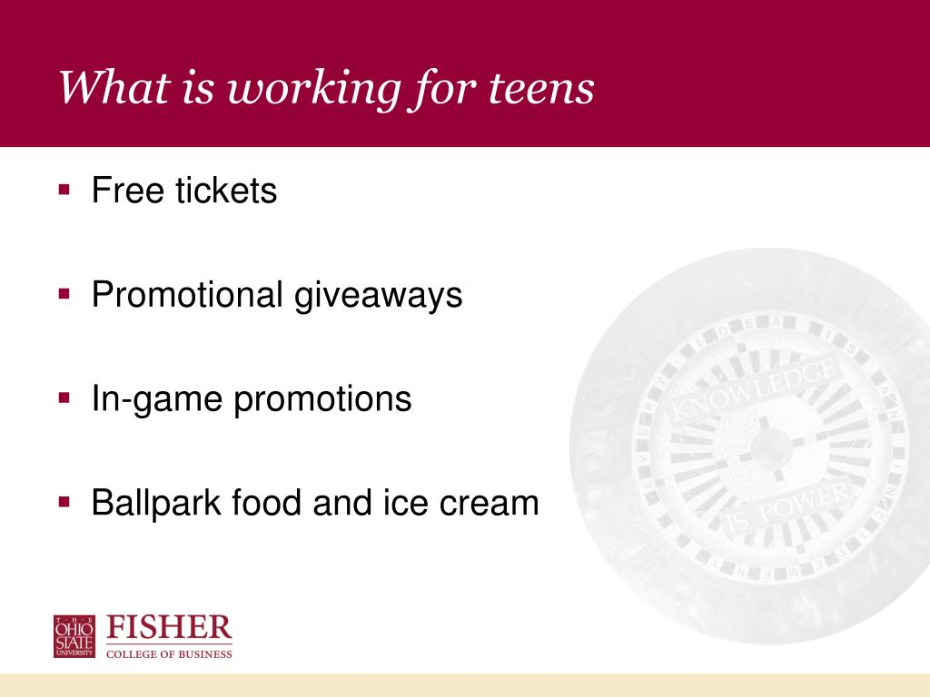 What is working for teens