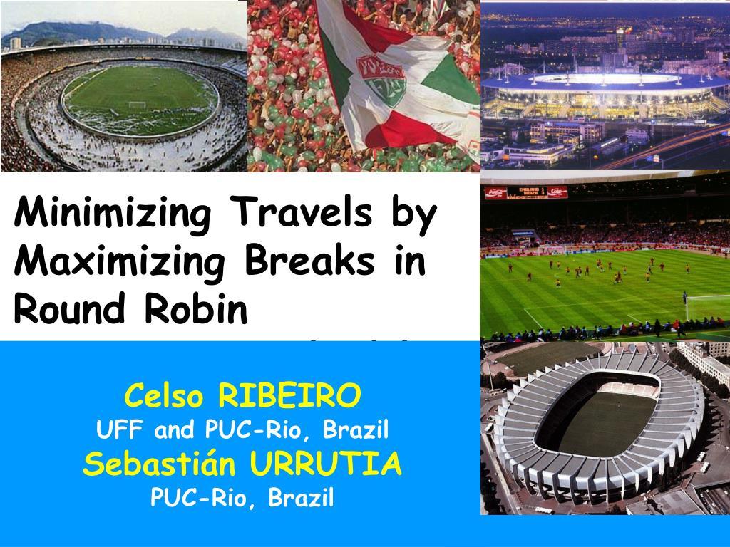 Minimizing Travels by
