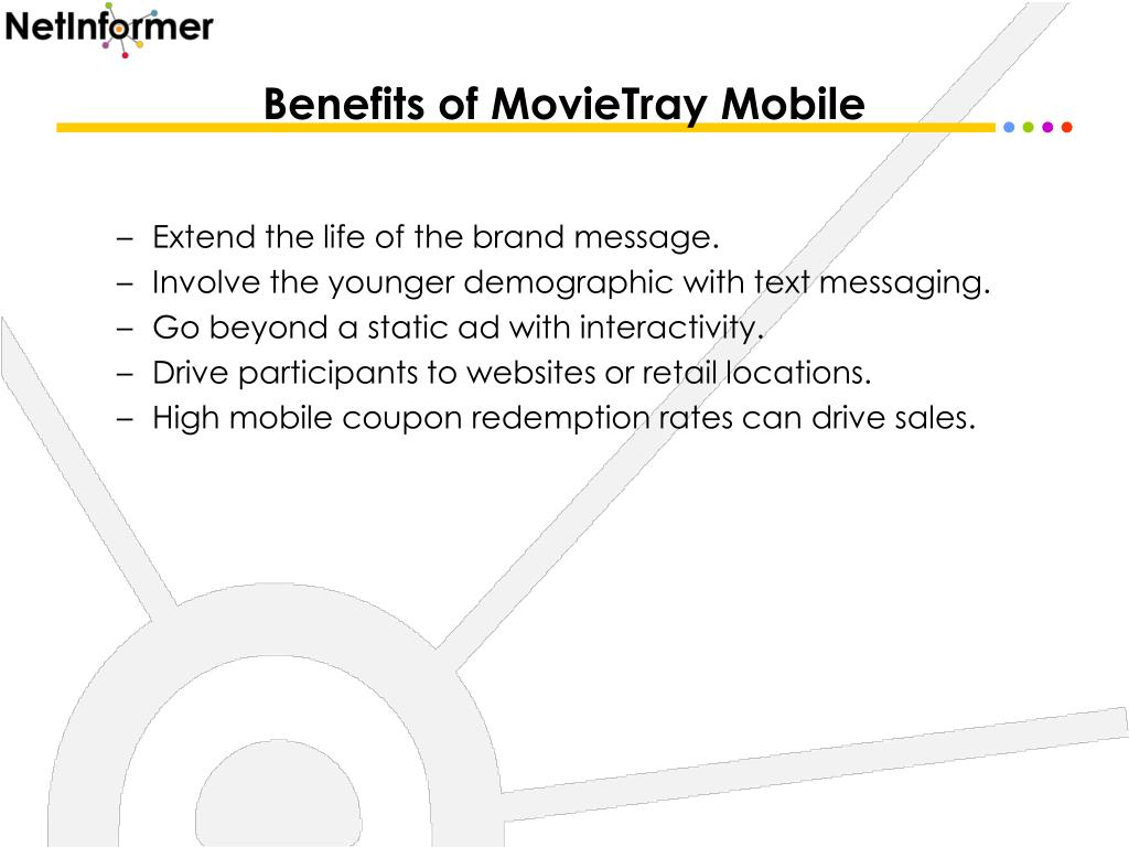 Benefits of MovieTray Mobile
