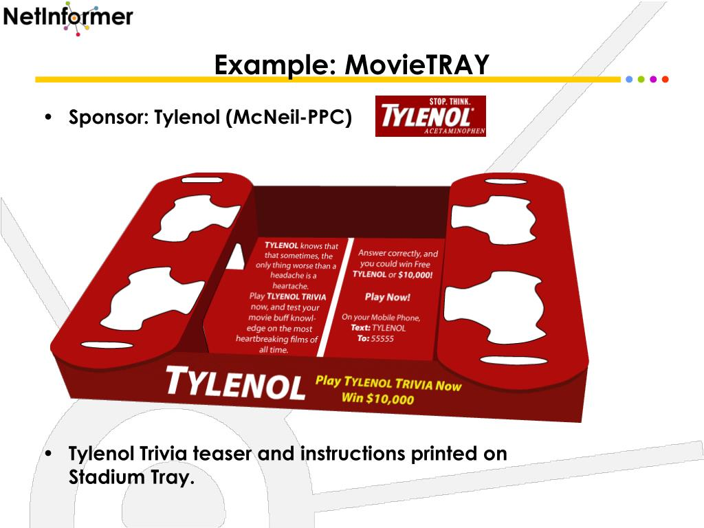 Example: MovieTRAY