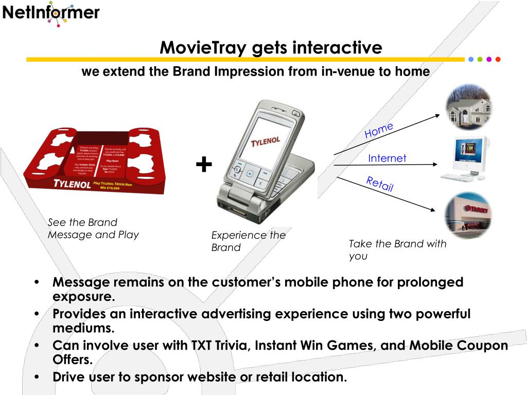 MovieTray gets interactive