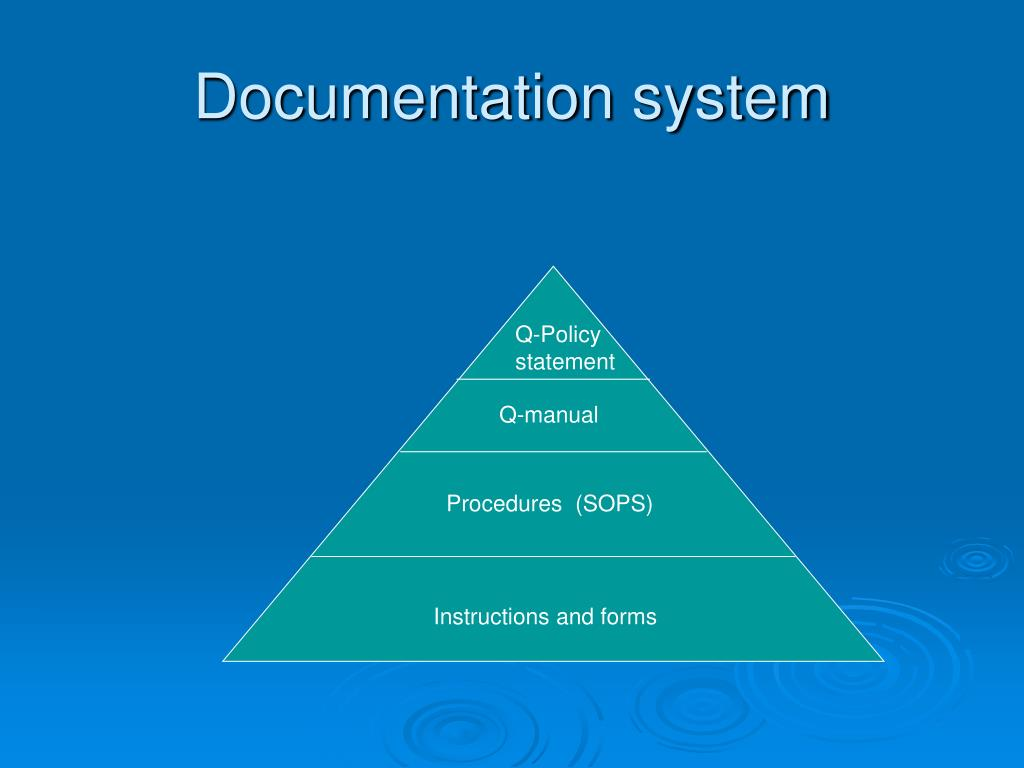 Documentation system