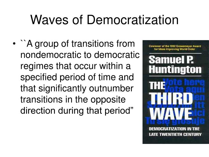 Waves of democratization