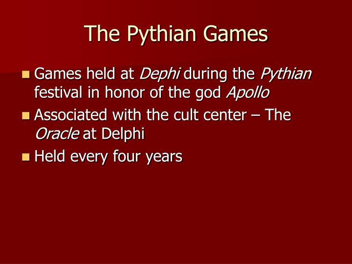 The Pythian Games