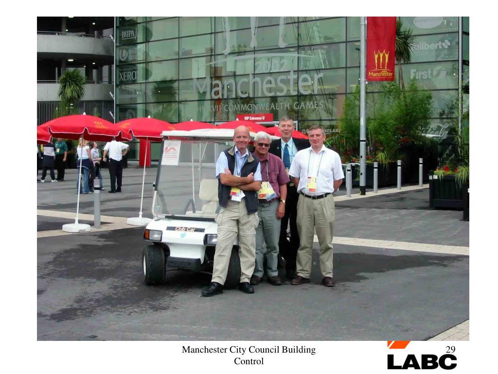 Manchester City Council Building Control