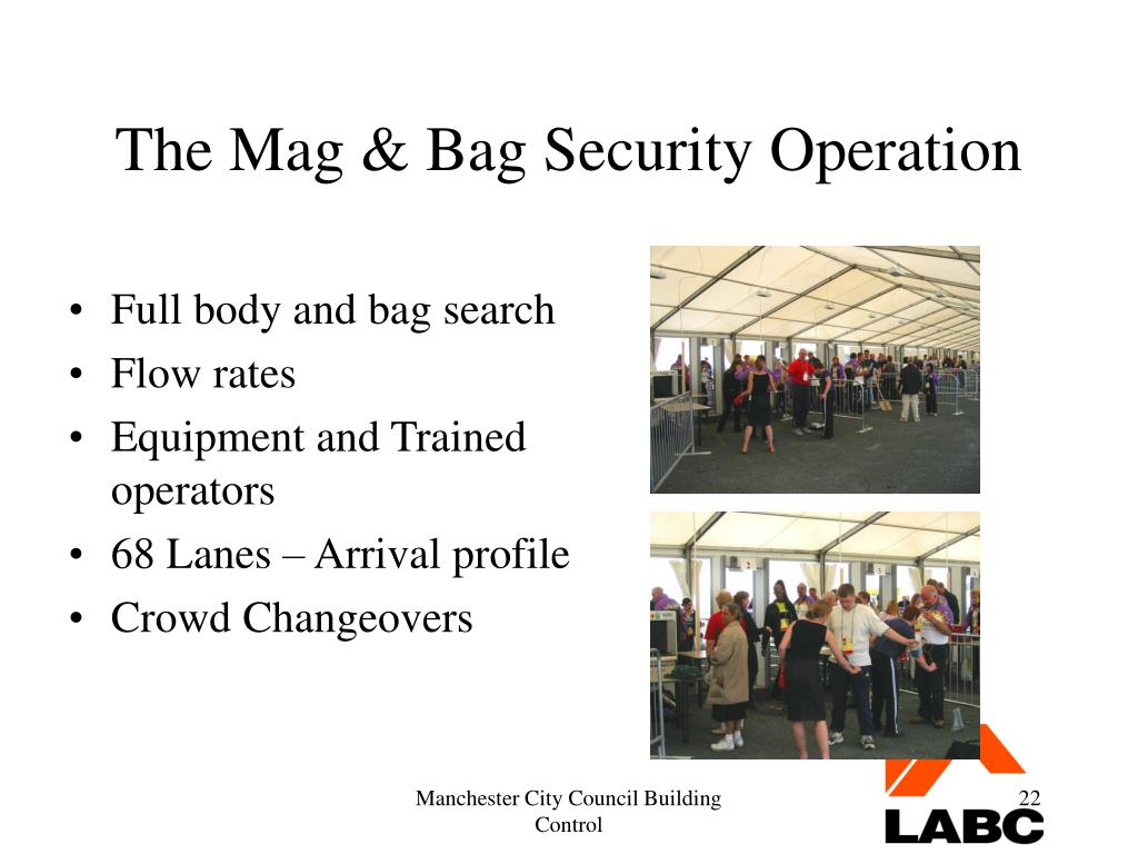 The Mag & Bag Security Operation