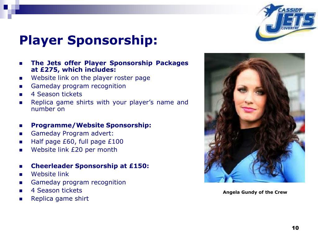 Player Sponsorship: